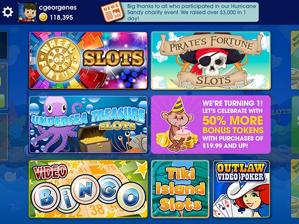 Go to Developing GSN Casino for the iOS